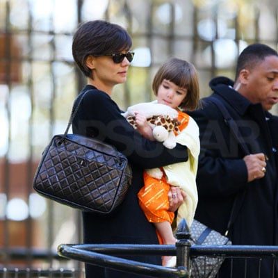 Katie Holmes and Suri Cruise Out in NYC 2008-10-30 23:25:06