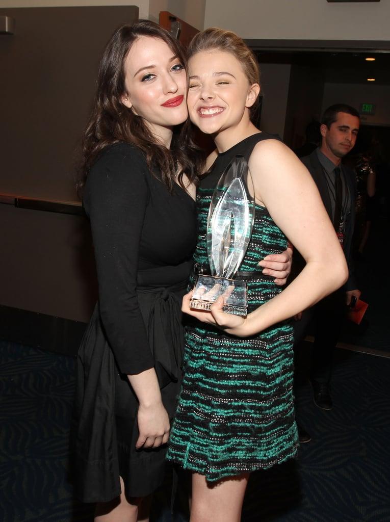 Kat Dennings and Chloë Moretz