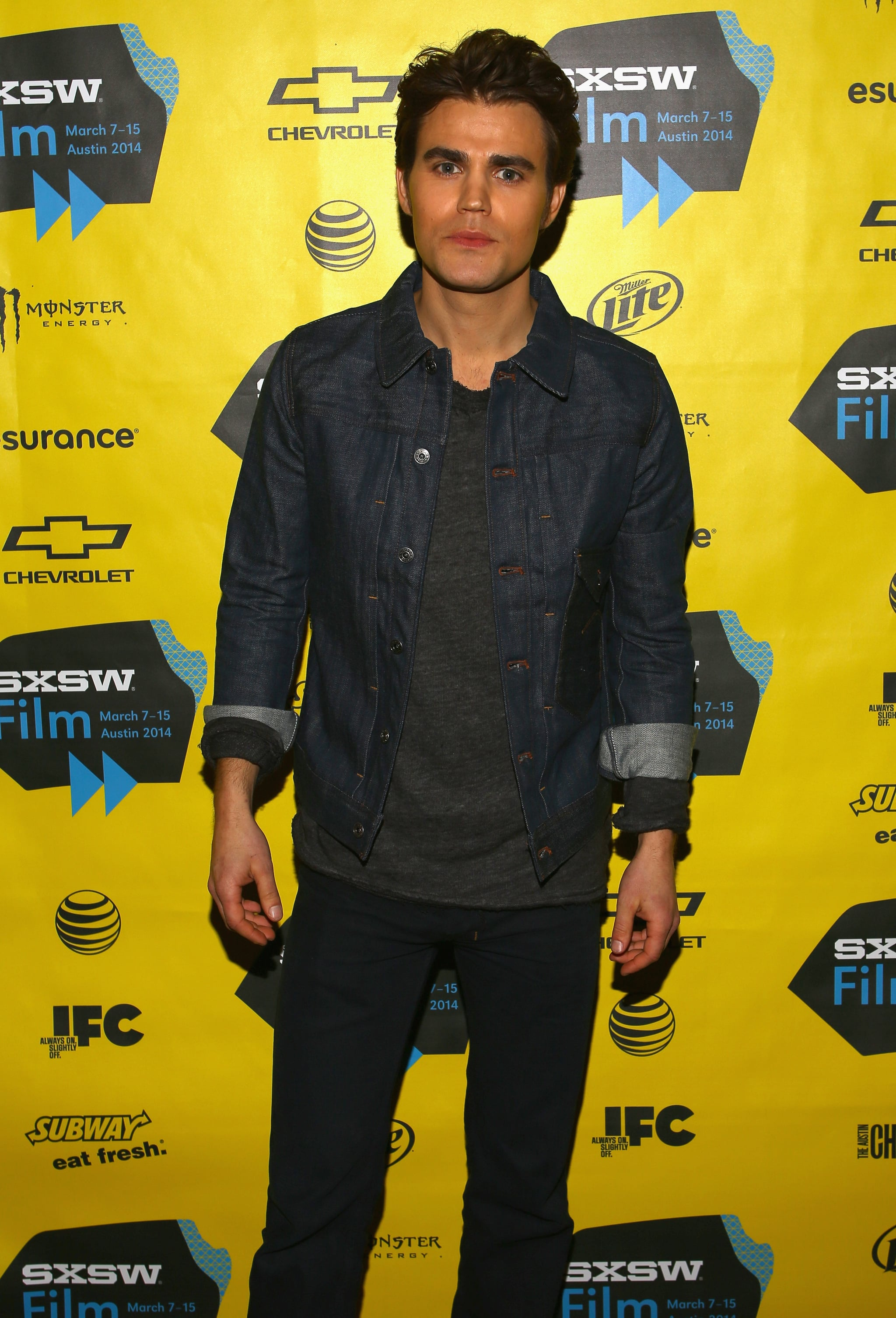 Paul Wesley looked gorgeous on Monday.