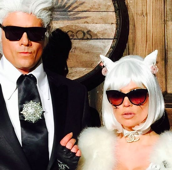 Fergie and Josh Duhamel Karl Lagerfeld Halloween Costume
