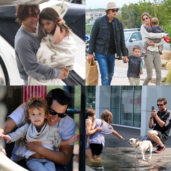 Celebrity Dad Pictures on Father's Day