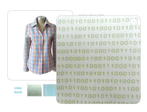 Binary Button-Down Has Me Doing the Math For Shipping + Tax