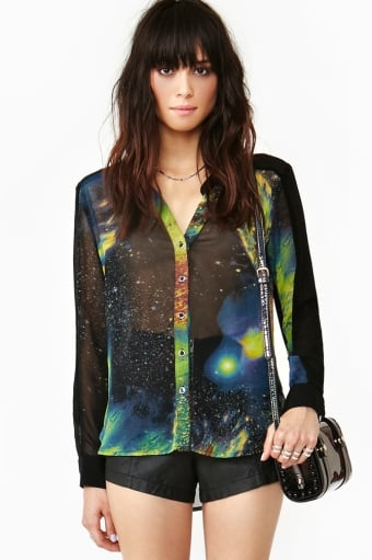 Space Oddity Blouse ($58)