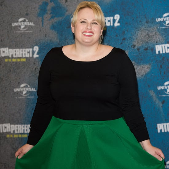 Rebel Wilson's Dress at Pitch Perfect 2 Photocall