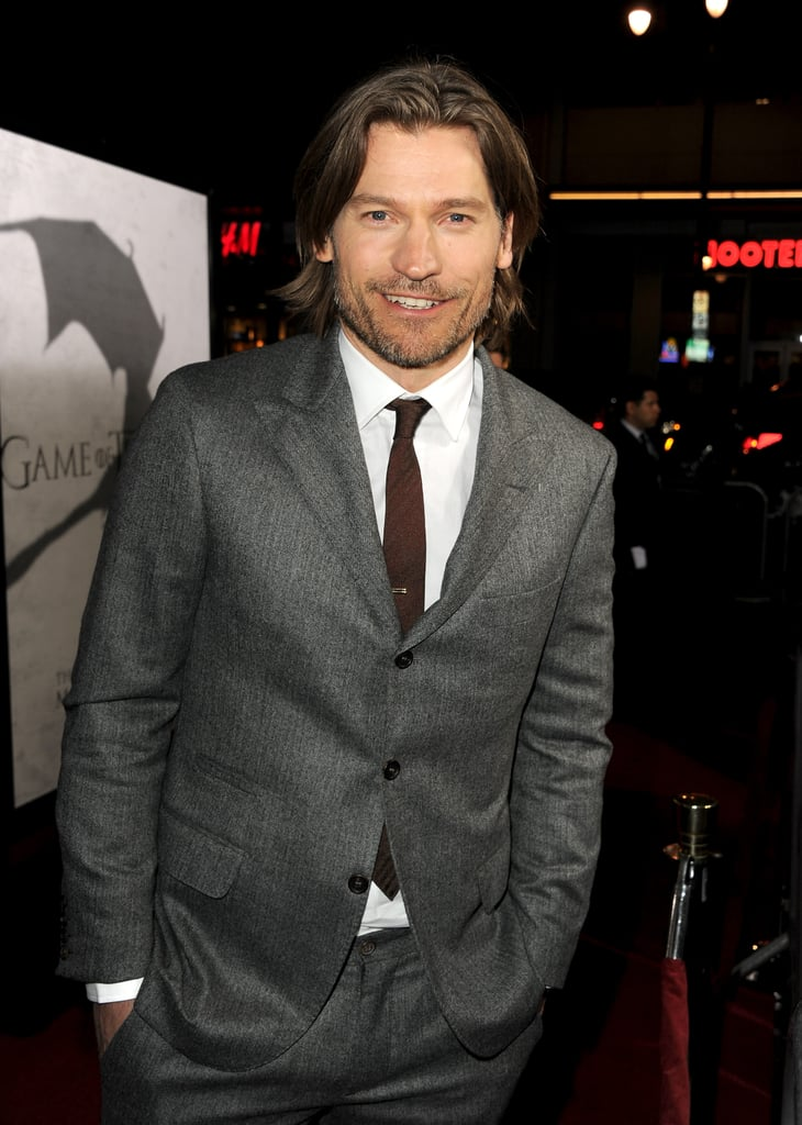 Nikolaj Coster-Waldau went for a dapper suit.
