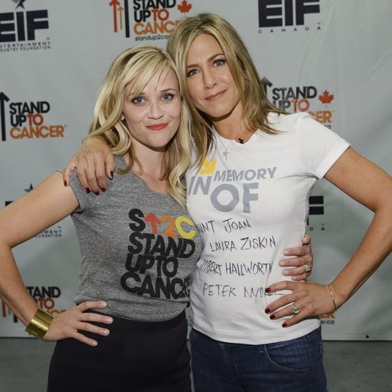 Celebrities at Stand Up To Cancer Special 2014
