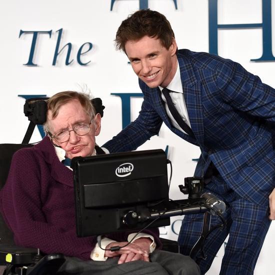 Stephen Hawking Reacts to Eddie Redmayne's Oscar Win 2015