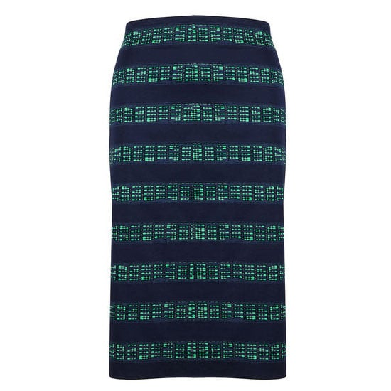 I loved Burberry's jewel-toned colour palette when Emma Stone worked it last year, and then last week Candice Lake made it more of an everyday reality with her emerald-jeans-and-navy-top ensemble. This skirt will be the easiest way to incorporate the combo into my wardrobe —and the longer length is perfect for winter! I'll wear it with a slim-cut neutral knit, methinks. — Genevieve, associate editor Skirt, $149.95, Sportscraft