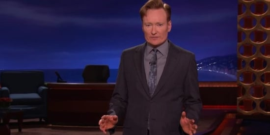 Conan O'Brien Pleads For America To 'Grow Up' About Gun Control
