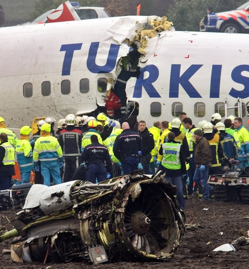 Front Page: Turkish Airlines Crash Kills Nine in Amsterdam