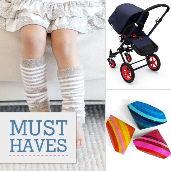 Lil is sweet on striped leg warmers, Bugaboo strollers, and Todd Oldham's latest collection for Target.