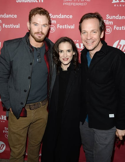 Winona Ryder at Sundance for Experimenter with Peter Sarsgaard and Kellan Lutz