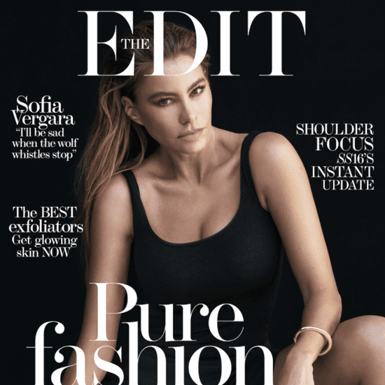 Sofia Vergara Talking About Style in The Edit 2016
