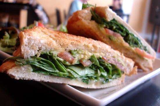 Avocado and Spinach Panini