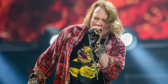 Axl Rose Doesn't Want You To See These Unflattering Photos Of Him