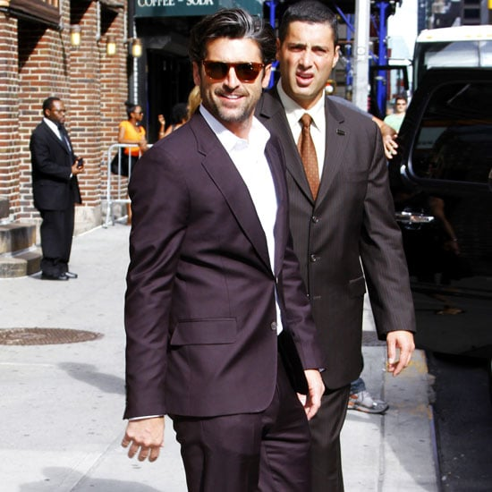 Patrick Dempsey Leaving The Late Show in NYC Pictures