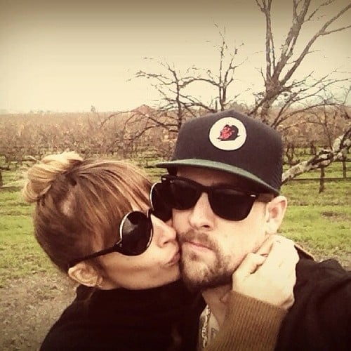 Joel Madden and Nicole Richie showed love for each other while celebrating their second wedding anniversary. Source: Twitter user JoelMadden