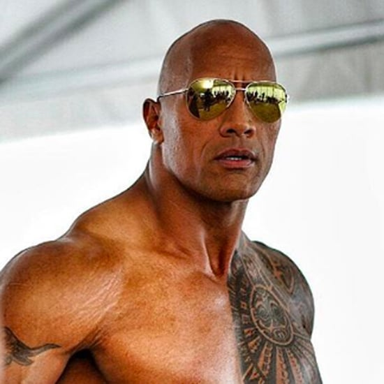 Shirtless Dwayne Johnson Pictures
