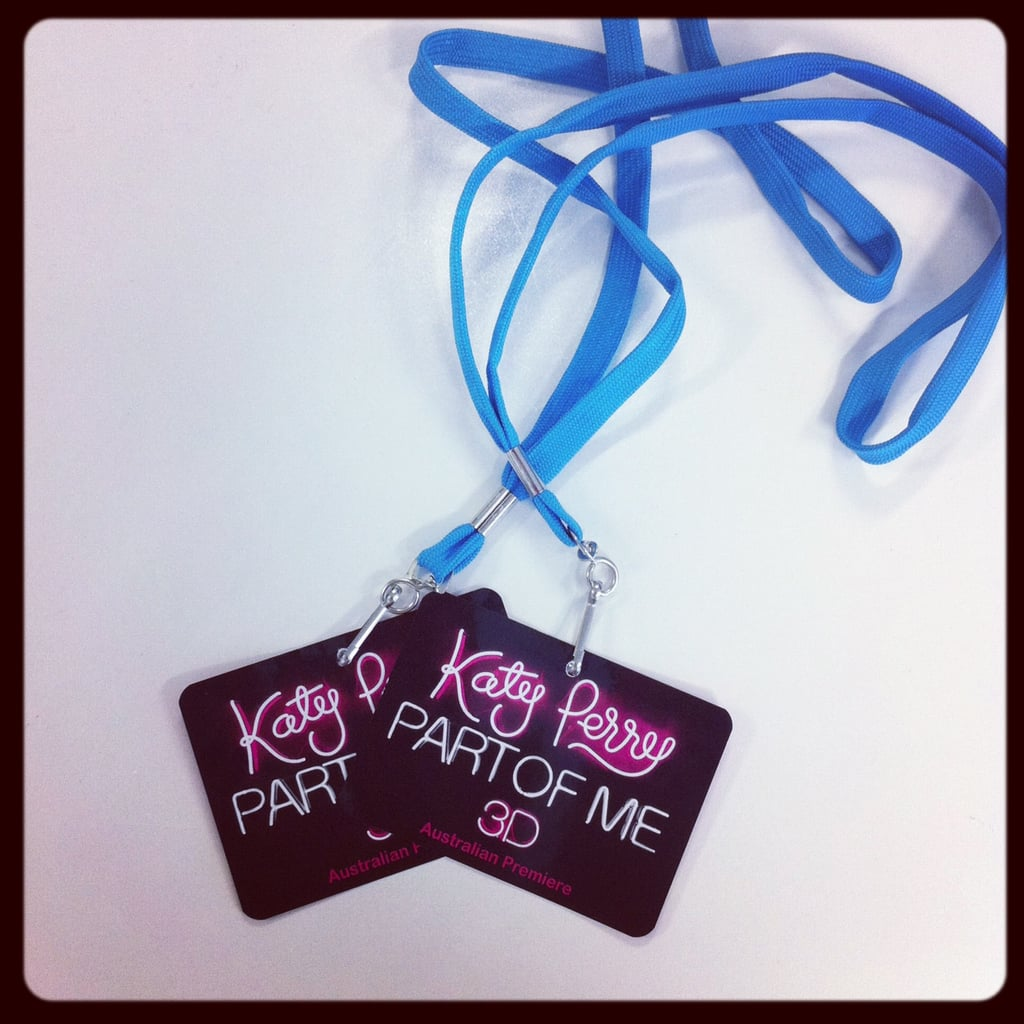 Pop ed Jess is all set for the Katy Perry Part of Me premiere in Sydney.