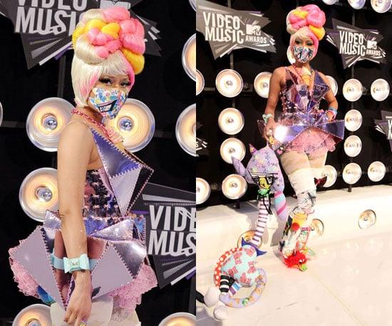 Nicki Minaj at 2011 MTV VMAs 2011-08-28 18:51:06