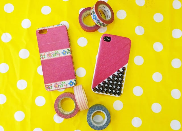 Studs and Washi Tape