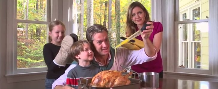 """Happy Thanksgiving: 1 Family Proves That Today Is """"All About That Baste"""""""