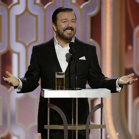 Ricky Gervais Opening Monologue Golden Globes 2016