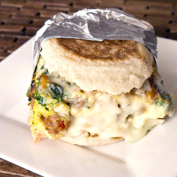 Frittata Breakfast Sandwich | POPSUGAR Food