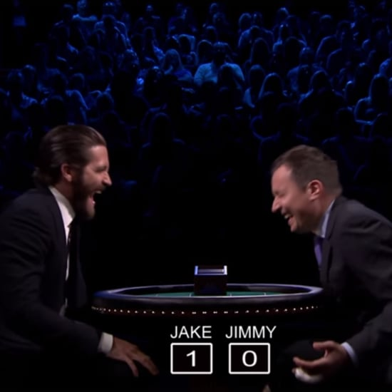 Jake Gyllenhaal Slapjack Game With Jimmy Fallon
