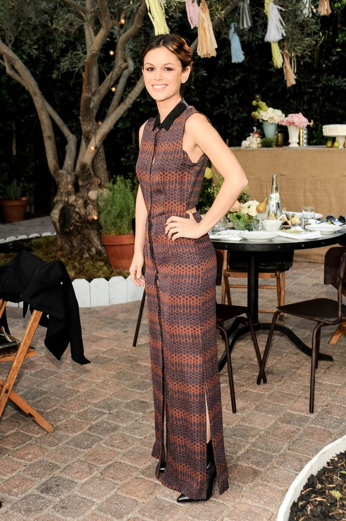 Rachel Bilson attended ShoeMint's first anniversary party.