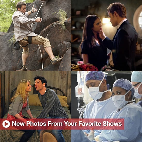 Pictures From Grey's Anatomy's Musical Episode, The Vampire Diaries, and Modern Family