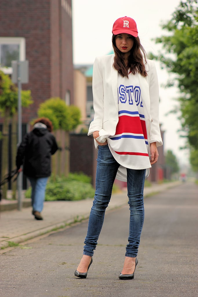 Presenting the coolest way to get dressed for any Summer sports event. Source: Lookbook.nu