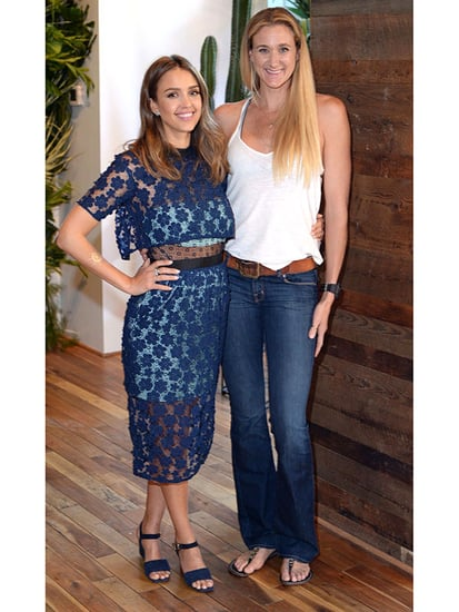 Jessica Alba Names Olympian Kerri Walsh Jennings as First Honest Ambassador: 'She Does Everything with Integrity'