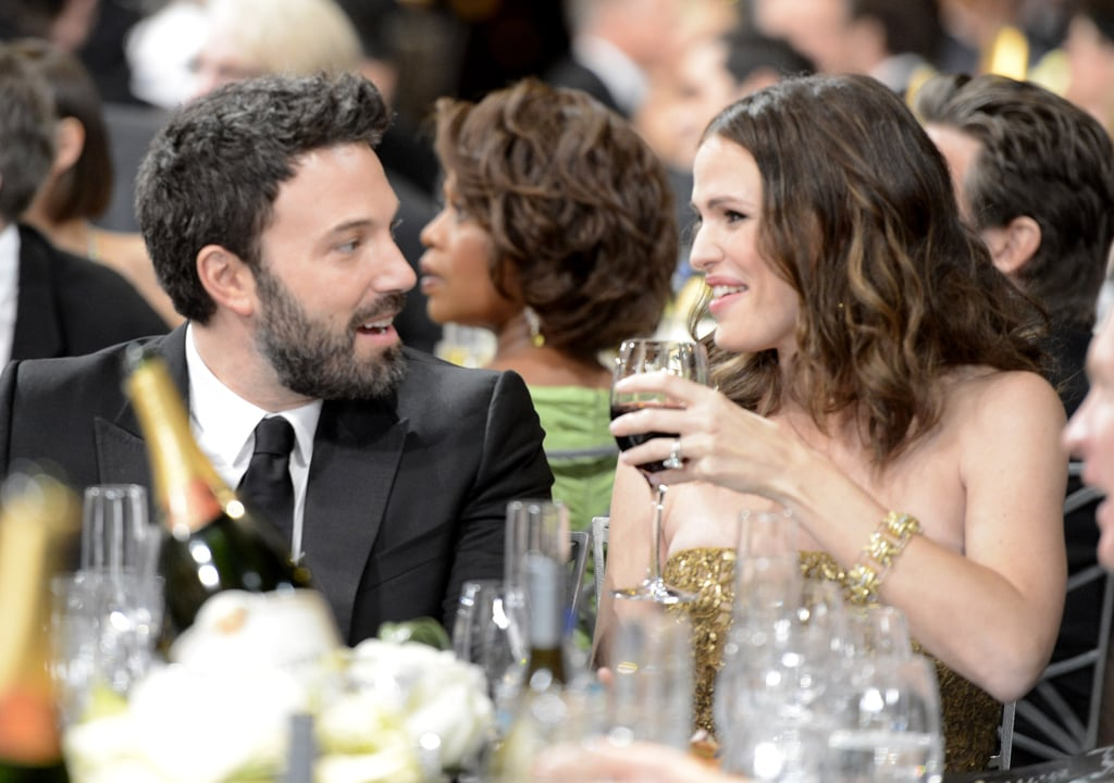 Jennifer Garner Drinks Up During the SAGs With Ben Affleck