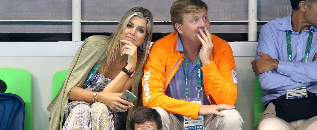 We Can Hardly Keep Our Chill About Queen Máxima's Olympics Jumpsuit