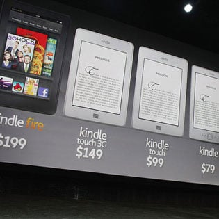Amazon Kindle Tablets and Ereaders