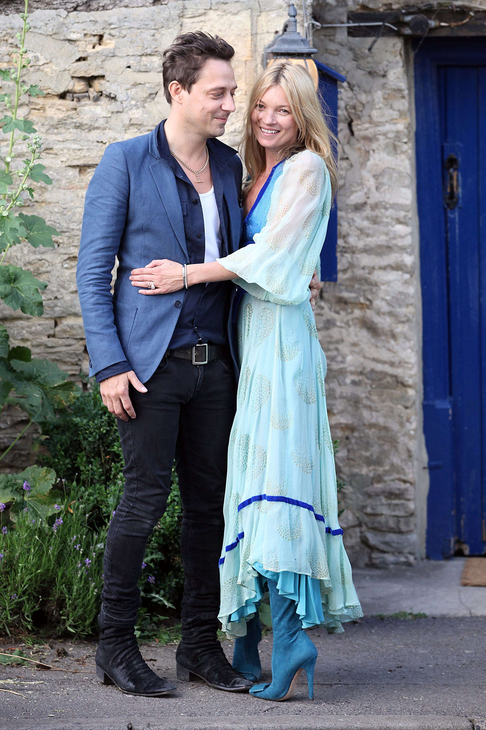 Kate Moss's Wedding Ceremony Is Under Way