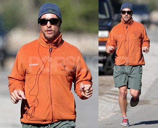 Matthew McConaughey Loves Running, Just Like You