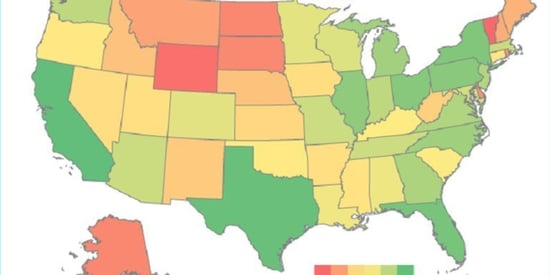 Are These The Most Tech-Savvy States? This Map May Surprise You