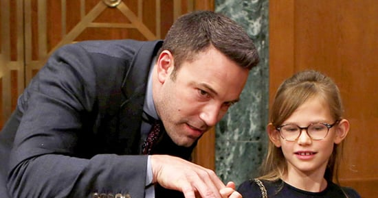 Ben Affleck Takes Daughter Violet to 'Harry Potter and the Cursed Child' Play in London: Photo
