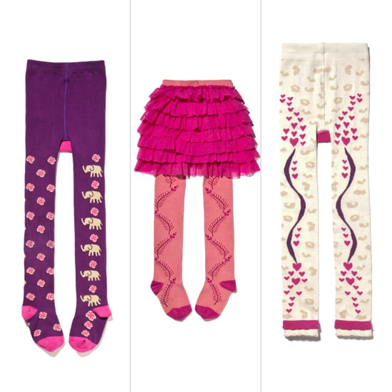 Sneak peek! This September, Pink Chicken is partnering with Luna Leggings to launch a capsule collection of boldly patterned tights and leggings. They'll be available at Pink Chicken and boutiques around the country for $34, with a percentage of proceeds benefitting Cookies For Kids' Cancer.
