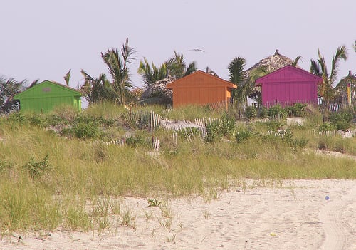 Love It or Hate It? Neon Beach Shacks