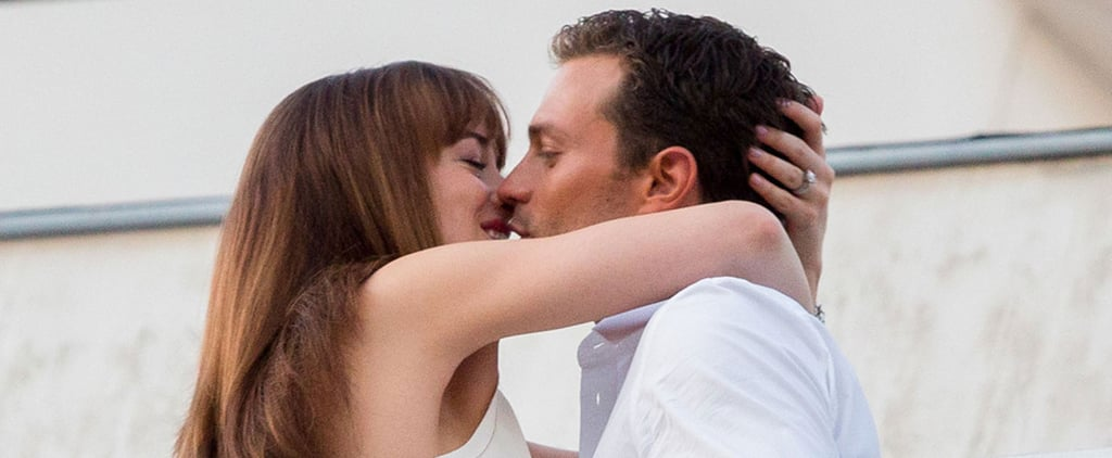 Dakota Johnson and Jamie Dornan Heat Things Up on the Set of Fifty Shades Freed