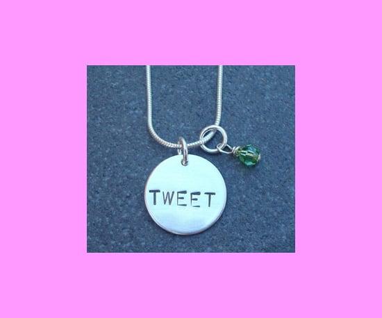 A Tweet Necklace