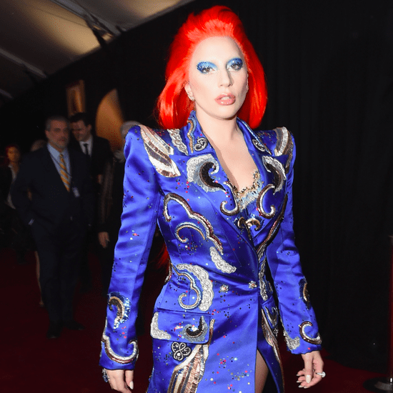 Lady Gaga's David Bowie Outfit at Grammys 2016