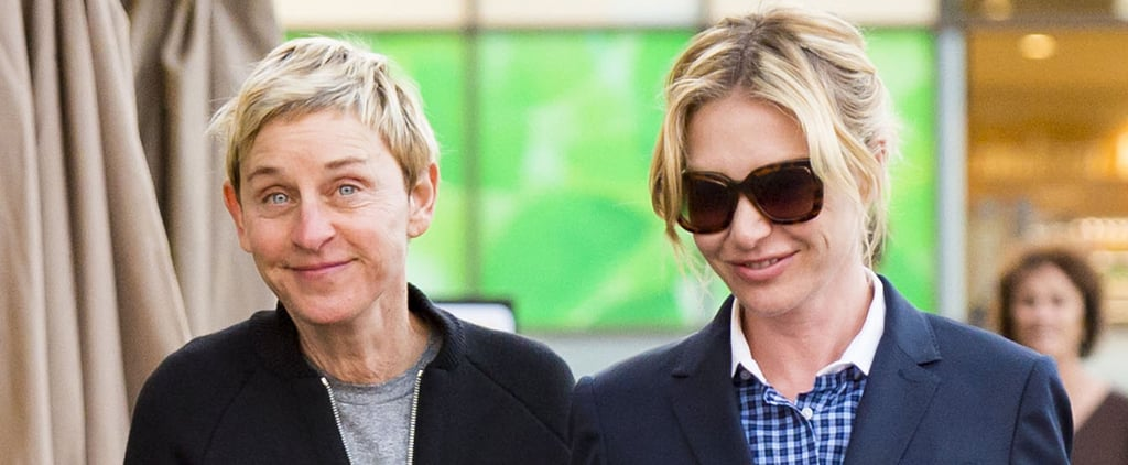 Ellen DeGeneres and Portia de Rossi Look Like 2 Teenagers in Love During Their LA Outing