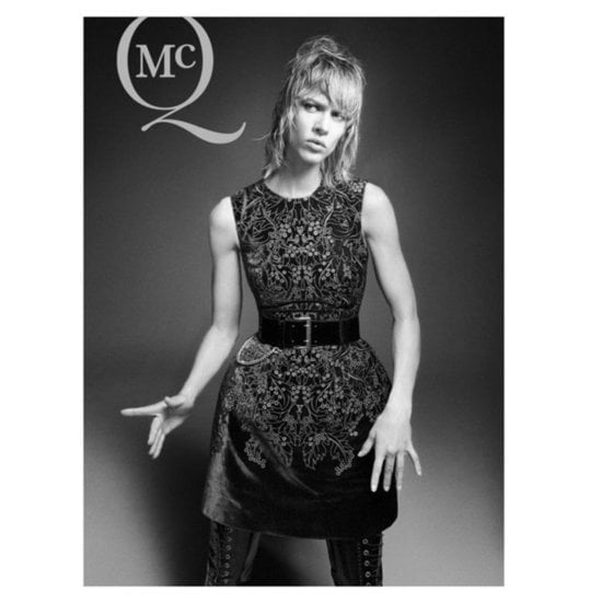 The theme of McQ by Alexander McQueen's Fall 2012 campaign? Just cinch it.