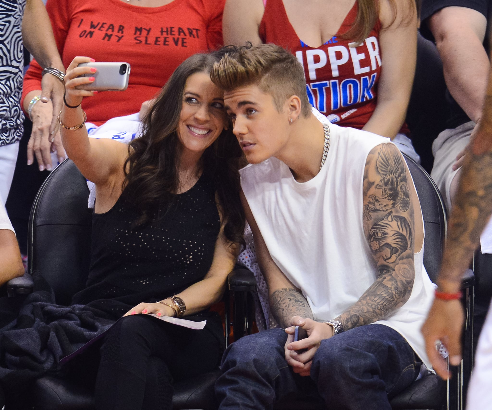 You Guys, Justin Bieber Is Still a Mama's Boy