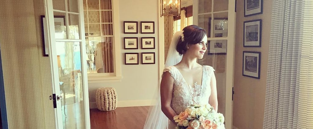 Olympic Skater Sasha Cohen's Wedding Gown Is So Stunning, You'll Be Daydreaming About It All Day