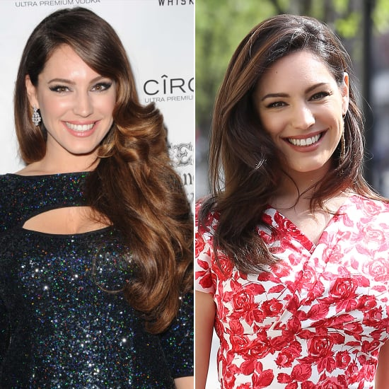 Kelly Brook With Long Hair Extensions